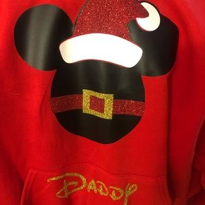 Mickey Mouse Santa Daddy inspired sweater/hoodie